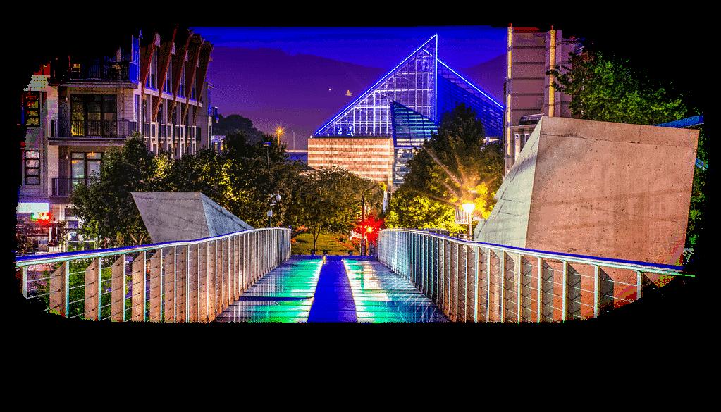 Bridge in Chattanooga Tennessee - Chattanooga Perio